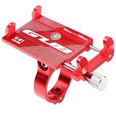 Велосипедный держатель телефона Gub G-81 (красный)