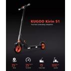 Электросамокат Kugoo S1 Черный